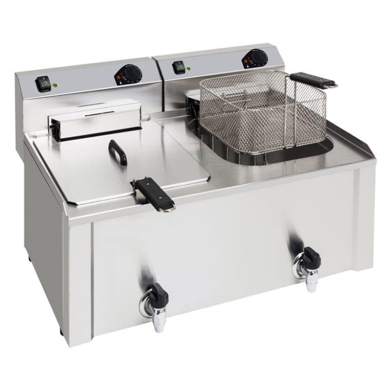 Fritadeira 10 + 10 Litros Profissional
