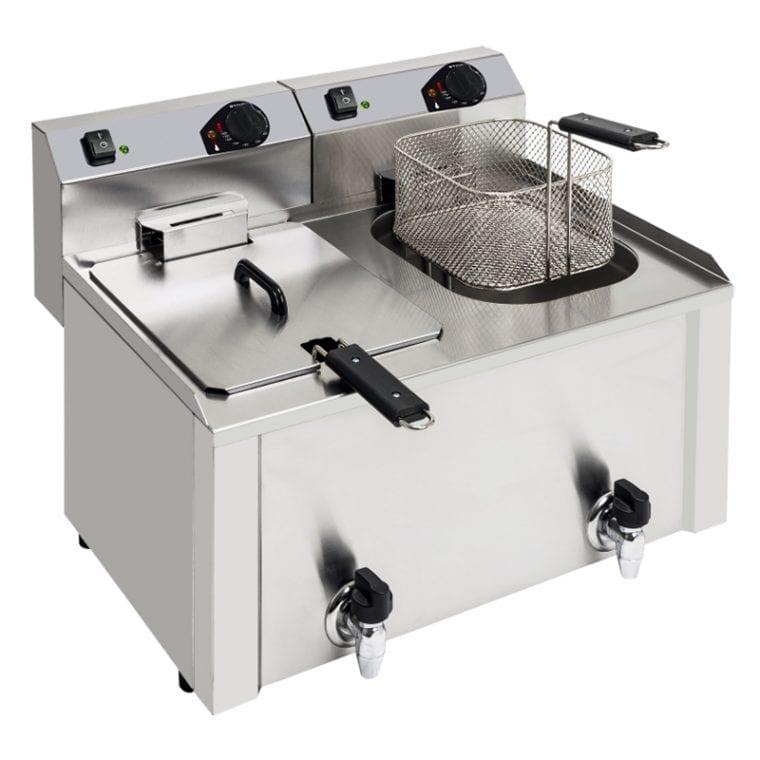 Fritadeira 7 + 7 litros profissional