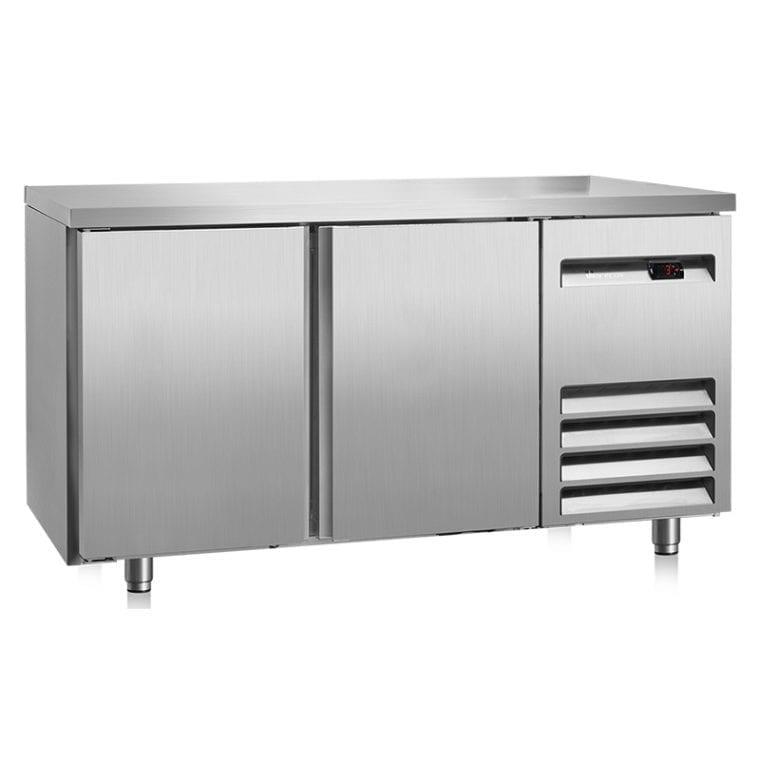 Bancada frigorifica 2 portas inox