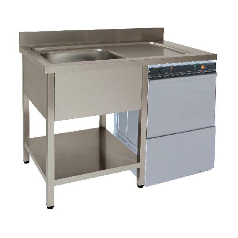 Lavadouro maquina de lavar 600 mm