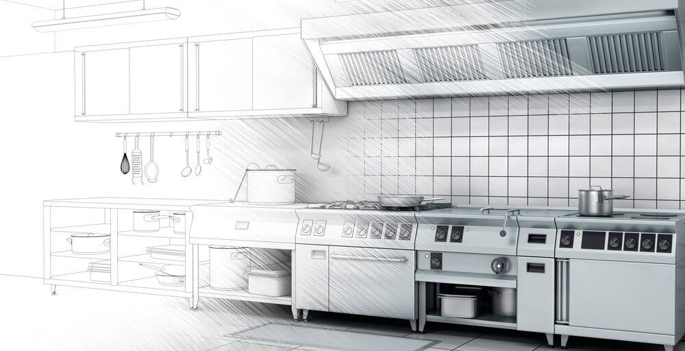 Cozinha industrial e equipamentos